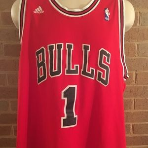 Chicago bulls rose Adidas jersey size XL
